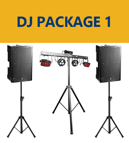 DJ Rental Package 1